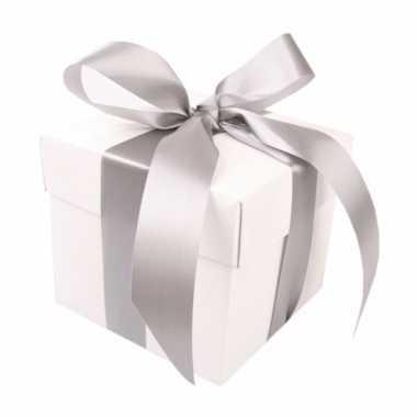 Bruiloft geschenk doosje 10 cm kerstversiering