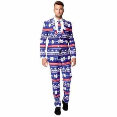 Compleet kostuum in kerst stijl kerstversiering 10062345