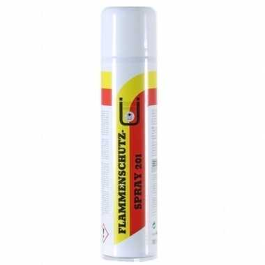 Feestartikelen brandvertragend maken spray 400 ml kerstversiering