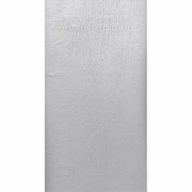 Kerst thema zilveren tafelkleed 138 x 220 cm kerstversiering