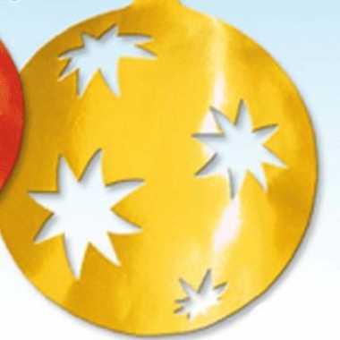 Kerstballen hangdecoratie 40 cm kerstversiering