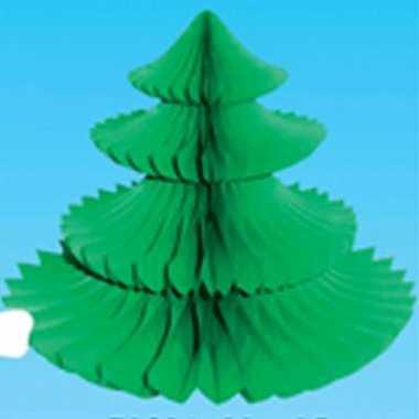 Kerstbomen tafeldecoratie kerstversiering