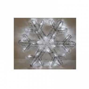 Kerstlampjes sneeuwvlok 27 cm kerstversiering