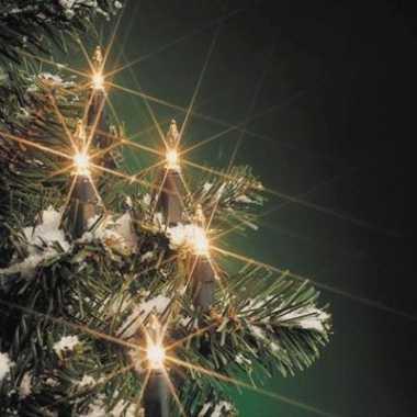 Kerstverlichting lampjes 160 stuks kerstversiering