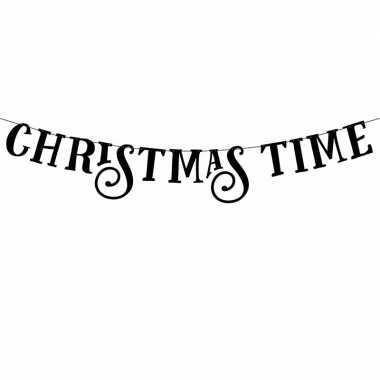 Kerstversiering slinger christmas time