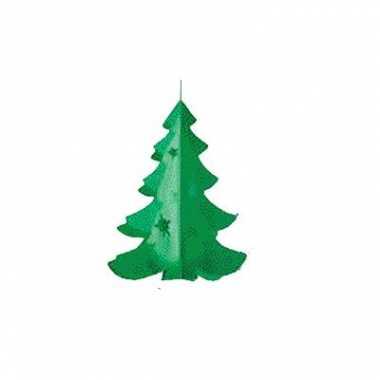 Papieren hangdecoratie kerstboom kerstversiering