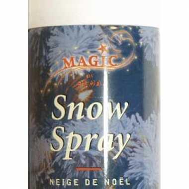 Spuitbus sneeuwspray 150 ml kerstversiering