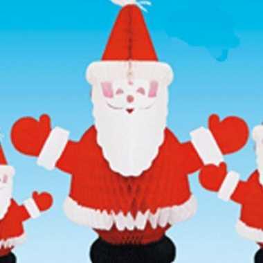 Tafeldecoratie kerstman brandvertragend kerstversiering