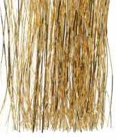 Chique christmas gouden kerstversiering tinsel slierten 50 cm