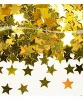 Gouden sterren confetti kerstversiering