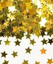 Gouden sterren confetti versiering van 42 gram kerstversiering