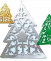 Kerstbomen hangdecoratie 50 cm kerstversiering