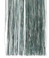 Mint of lichtgroene kerstversiering slinger