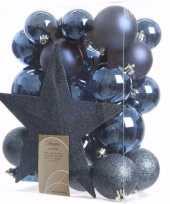 Mystic christmas complete kerstversiering pakket 33 stuks 10097513