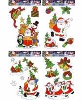 Raamstickers kerstmis 12 stuks kerstversiering