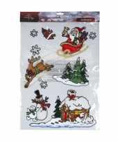 Raamstickers versiering kerstmis kerstversiering